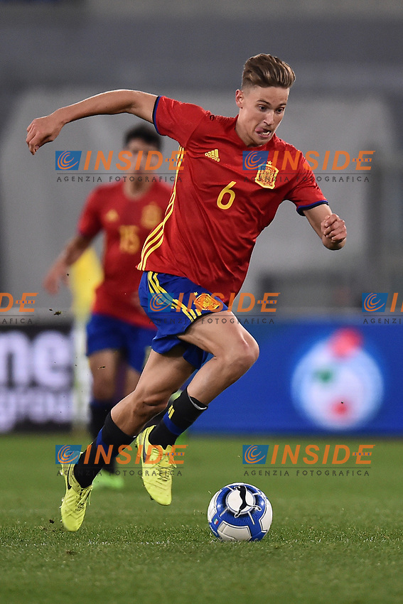 Marcos Llorente Spagna <br /> Roma 27-02-2017, Stadio Olimpico<br /> Football Friendly Match  <br /> Italy - Spain Under 21 Foto Andrea Staccioli Insidefoto