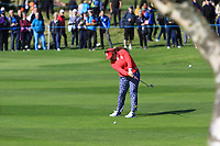 Lizette Salas Team USA on the 7th fairway during Day 1 Fourball at the Solheim Cup 2019, Gleneagles Golf CLub, Auchterarder, Perthshire, Scotland. 13/09/2019.<br /> Picture Thos Caffrey / Golffile.ie<br /> <br /> All photo usage must carry mandatory copyright credit (© Golffile | Thos Caffrey)