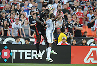Washington, D.C. - June 3, 2017: D.C. United tied the Los Angeles Galaxy 0-0 during their Major League Soccer (MLS) match at RFK Stadium.