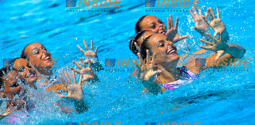 Roma 18th JULY 2009 - 13th Fina World Championships .From 17th to 2nd August 2009.Synchro Technical Team.Italia (ITA).Roma2009.com/InsideFoto/SeaSee.com