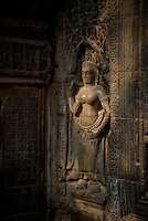 Apsara figurine at Prasat Taprom and Tonle Bati, Cambodia