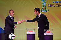Ivan Vicelich. Official Draw for the FIFA U 20 Football World Cup, New Zealand 2015. Sky City, Auckland. Tuesday 10 February 2015. Copyright photo: Andrew Cornaga / www.photosport.co.nz
