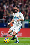 Daniel Carvajal Ramos of Real Madrid in action during the La Liga 2017-18 match between Atletico de Madrid and Real Madrid at Wanda Metropolitano  on November 18 2017 in Madrid, Spain. Photo by Diego Gonzalez / Power Sport Images