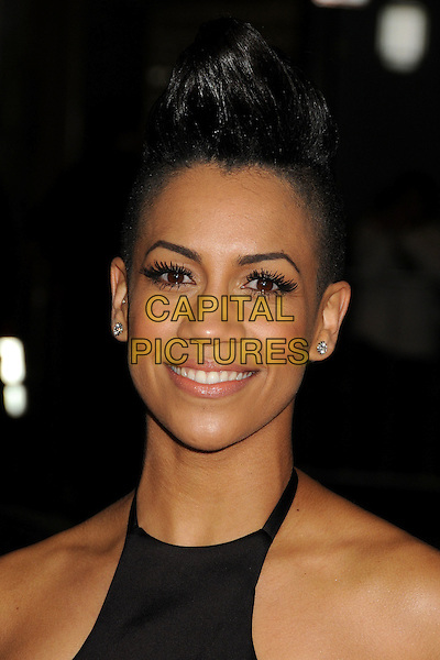4 February 2014 - Los Angeles, California - Dominique Tipper. &quot;Vampire Academy&quot; Los Angeles Premiere held at Regal Cinemas L.A. Live. <br /> CAP/ADM/BP<br /> &copy;Byron Purvis/AdMedia/Capital Pictures