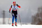 Irina Khazova in action during the Women 5 km Classic Individual in Val Di Fiemme<br /> <br /> &copy; Pierre Teyssot