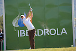 Chris Wood (ENG) teeing off on the 17th on day one of the Iberdrola Open from Pula Golf Club ,Son Servera, Mallorca, Spain. 12/5/2011..Picture Fran Caffrey/www.golffile.ie