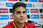 Marc Bartra during the press conference of the spanish national football team in the city of football of Las Rozas in Madrid, Spain. August 28, 2017. (ALTERPHOTOS/Rodrigo Jimenez)