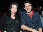 Philip and Sharon Clifford pictured at the jason Byrne show in the Barbican Centre. Photo:Colin Bell/pressphotos.ie