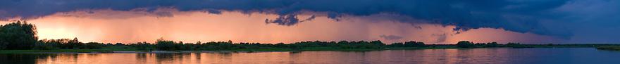 Landscape at Prypiat river, Belarus