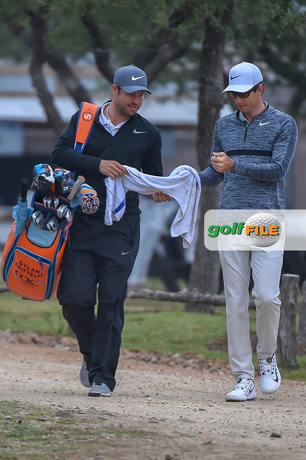 Dylan Frittelli (RSA) approaches the 10th tee during Round 3 of the Valero Texas Open, AT&T Oaks Course, TPC San Antonio, San Antonio, Texas, USA. 4/21/2018.<br /> Picture: Golffile | Ken Murray<br /> <br /> <br /> All photo usage must carry mandatory copyright credit (© Golffile | Ken Murray)