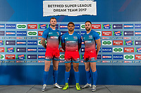 Picture by Allan McKenzie/SWpix.com - 25/09/2017 - Rugby League - Super League Dream Team 2017 - Aspire, Leeds, England - Man of Steel finalists Zak Hardaker, Albert Kelly & Luke Gale.