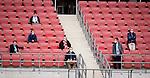 nph00351: Fussball, 1. Bundesliga, Saison 19/20, 26. Spieltag, Fortuna Düsseldorf - FC Paderborn 07, 16.05.2020:<br /> Wenige Vereinsdelegierte dürfen zuschauen<br />  <br /> <br /> Nur für journalistische Zwecke! Only for editorial use!<br /> <br /> Gemäß den Vorgaben der DFL Deutsche Fußball Liga ist es untersagt, in dem Stadion und/oder vom Spiel angefertigte Fotoaufnahmen in Form von Sequenzbildern und/oder videoähnlichen Fotostrecken zu verwerten bzw. verwerten zu lassen. DFL regulations prohibit any use of photographs as image sequences and/or quasi-video. <br /> <br /> Foto: Moritz Müller/Pool / via Meuter/nordphoto