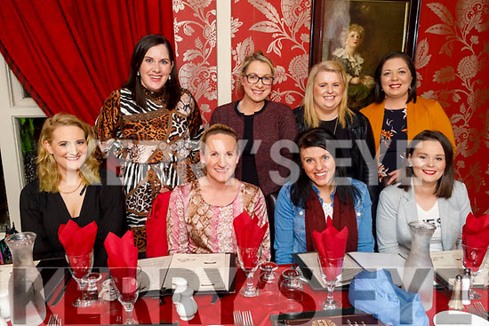 Enjoying the evening in Cassidys on Friday. Seated l to r: Sheila Galway, Margaret Deleith, Lisa Riordan and Marion Hickey.  Back l to r: Deirdre O'Mahoney, Juliette O'Donoghue, Maria Finucane and Siobhan Lenihan,