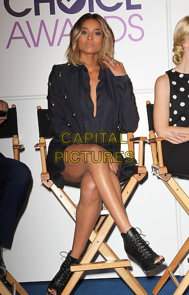 5 November 2013 - Beverly Hills, California - Ciara (Ciara Princess Harris). People's Choice Awards 2014 Nominations Press Conference Held at The Paley Center for Media<br /> CAP/ADM/KB<br /> &copy;Kevan Brooks/AdMedia/Capital Pictures