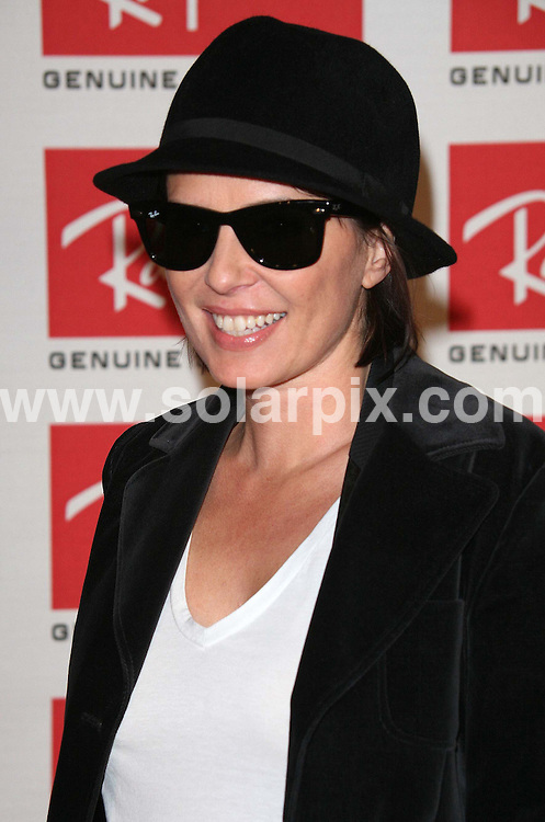 ALL ROUND PICTURES FROM SOLARPIX.COM.Sadie Frost attends the Ray Ban Wayfarer Uncut Sessions Party at the Electric Ballroom in Camden, London on 12.12.06.  Job Ref: 3155/SSD..MUST CREDIT SOLARPIX.COM OR DOUBLE FEE WILL BE CHARGED.