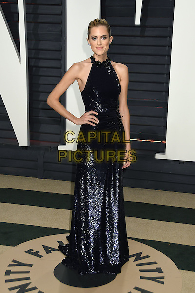 26 February 2017 - Beverly Hills, California - Allison Williams. 2017 Vanity Fair Oscar Party held at the Wallis Annenberg Center. <br /> CAP/ADM/BP<br /> &copy;BP/ADM/Capital Pictures