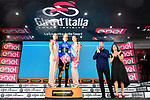 Simon Yates (GBR) Mitchelton-Scott also retains the mountains Maglia Azzurra at the end of Stage 17 of the 2018 Giro d'Italia, The Franciacorta Stage running 155km from Riva del Garda to Iseo, Italy. 23rd May 2018.<br /> Picture: LaPresse/Gian Mattia D'Alberto | Cyclefile<br /> <br /> <br /> All photos usage must carry mandatory copyright credit (&copy; Cyclefile | LaPresse/Gian Mattia D'Alberto)