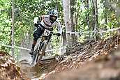 8th September 2017, Smithfield Forest, Cairns, Australia; UCI Mountain Bike World Championships;  Sam Hill (AUT) during the downhill official timed session;