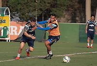 SÃO PAULO,SP, 12.11.2015 - FUTEBOL-PALMEIRAS - Fellype Gabriel durante treino na Academia de Futebol na Barra Funda região oeste de São Paulo na tarde desta quinta-feira (12). (Foto: Marcio Ribeiro/Brazil Photo Press)