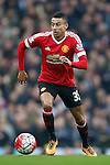 Jesse Lingard of Manchester United during the Barclays Premier League match at Old Trafford. Photo credit should read: Philip Oldham/Sportimage