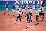 24.02.2019, SAP Arena, Mannheim<br /> Volleyball, DVV-Pokal Finale, VfB Friedrichshafen vs. SVG LŸneburg / Lueneburg<br /> <br /> Jubel Tyler Koslowsky (#1 Lueneburg), Raymond Szeto (#11 Lueneburg), Cody Kessel (#5 Lueneburg), Adam Schriemer (#3 Lueneburg), Michel Schlien (#14 Lueneburg), Ryan Sclater (#15 Lueneburg)<br /> <br />   Foto © nordphoto / Kurth