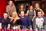 John Lane & Son (Tralee) Belated staff Christmas Party at Cassidy's on Saturday Front L-r Keith O'Flaherty, Shauna Donnelly, Tom Cantillon, Jason Stack. Back l-r Roderick Nicolson, Stephanie Buckley, Margaret Cahill, Courtney Dwyer