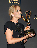 LOS ANGELES, CA - SEPTEMBER 09: Samantha Bee, at the 2017 Creative Arts Emmy Awards- Press Room at Microsoft Theater on September 9, 2017 in Los Angeles, California. <br /> CAP/MPIFS<br /> &copy;MPIFS/Capital Pictures