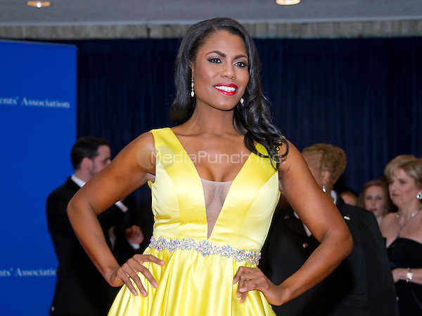 Omarose Onee Manigault arrives for the 2016 White House Correspondents Association Annual Dinner at the Washington Hilton Hotel on Saturday, April 30, 2016.<br /> Credit: Ron Sachs / CNP<br /> (RESTRICTION: NO New York or New Jersey Newspapers or newspapers within a 75 mile radius of New York City)/MediaPunch