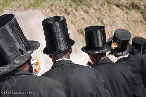 Tobago Heritage Festival, Moriah wedding,top hats