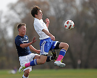 JUSC vs. EIU in the Iowa State Cup October 29, 2011.  Photo by Christopher Gannon.  Copyright All Rights Reserved ©2011 Christopher Gannon/GannonVisuals