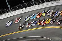 12-13 February, 2016, Daytona Beach, Florida, USA<br /> Brad Keselowski leads.<br /> ©2016, F. Peirce Williams
