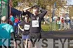 Noel Lawlor and Padraig Regan at the Valentines 10 mile road race in Tralee on Saturday.