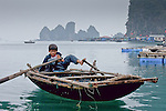 Scene from Halong Bay, Vietnam