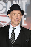 LOS ANGELES, CA - NOVEMBER 13: J.K. Simmons at the Justice League film Premiere on November 13, 2017 at the Dolby Theatre in Los Angeles, California. Credit: Faye Sadou/MediaPunch