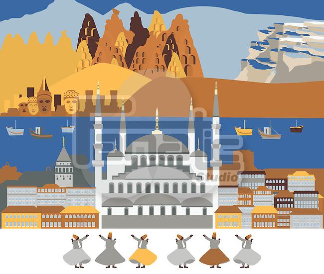 Tourist attractions of Turkey