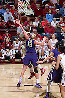STANFORD, CA - February 27, 2014: Stanford Cardinal's Chiney Ogwumike during Stanford's 83-60 victory over Washington at Maples Pavilion.