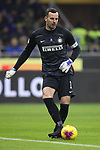 Samir Handanovic of Inter during the Coppa Italia match at Giuseppe Meazza, Milan. Picture date: 14th January 2020. Picture credit should read: Jonathan Moscrop/Sportimage