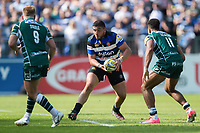 Lucas Noguera Paz of Bath Rugby in possession. Aviva Premiership match, between Bath Rugby and London Irish on May 5, 2018 at the Recreation Ground in Bath, England. Photo by: Patrick Khachfe / Onside Images