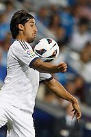 02.09.2012 SPAIN -  La Liga 12/13 Matchday 3th  match played between Real Madrid CF vs  Granada C.F. (3-0) at Santiago Bernabeu stadium. The picture show Sami Khedira (German midfielder of Real Madrid)