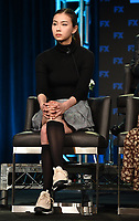 PASADENA, CA - FEBRUARY 4: Cast Member Lauren Tsai during the LEGION panel for the 2019 FX Networks Television Critics Association Winter Press Tour at The Langham Huntington Hotel on February 4, 2019 in Pasadena, California. (Photo by Frank Micelotta/FX/PictureGroup)