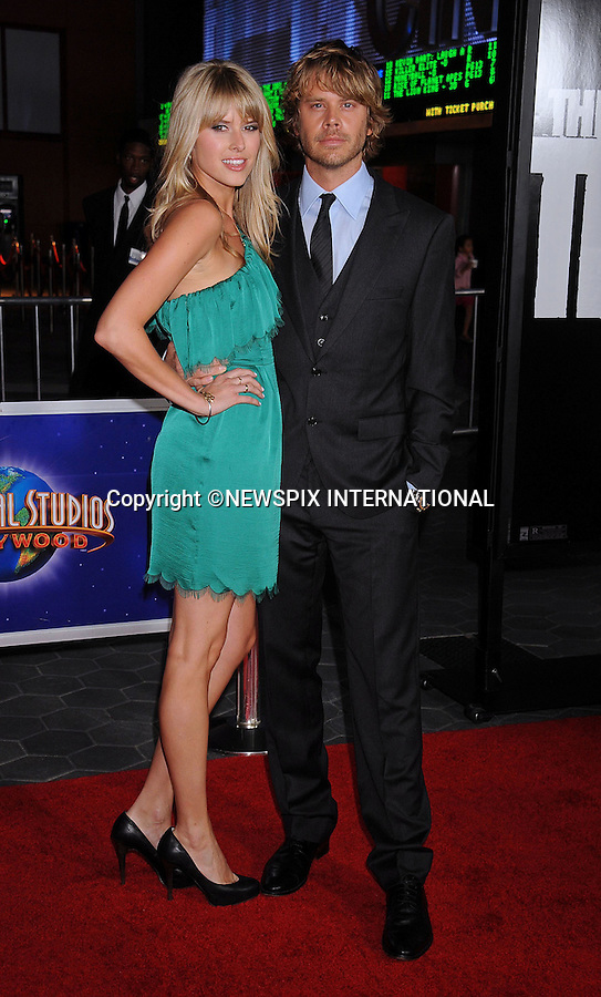 """SARAH WRIGHT AND ERIC CHRISTIAN OLSEN.attends the World Premiere of """"The Thing"""" at Universal Studios Hollywood AMC CityWalk Stadium 19 Theatre's, Universal City, California_10/10/2011.Mandatory Photo Credit: ©Crosby/Newspix International. .**ALL FEES PAYABLE TO: """"NEWSPIX INTERNATIONAL""""**..PHOTO CREDIT MANDATORY!!: NEWSPIX INTERNATIONAL(Failure to credit will incur a surcharge of 100% of reproduction fees).IMMEDIATE CONFIRMATION OF USAGE REQUIRED:.Newspix International, 31 Chinnery Hill, Bishop's Stortford, ENGLAND CM23 3PS.Tel:+441279 324672  ; Fax: +441279656877.Mobile:  0777568 1153.e-mail: info@newspixinternational.co.uk"""