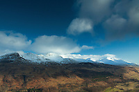 Ben Lawers and Meall nan Tarmachan from Sron a Chlachain, Killin, Stirlingshire