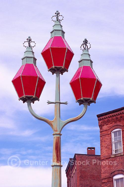 "Saint John, NB, New Brunswick, Canada - the Historic ""Trinity Lamps"" aka ""Three Sisters"" (built 1848)"
