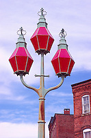 "Saint John, NB, New Brunswick, Canada - the Historic ""Trinity Lamps"" aka ""Three Sisters"" (built 1848)"