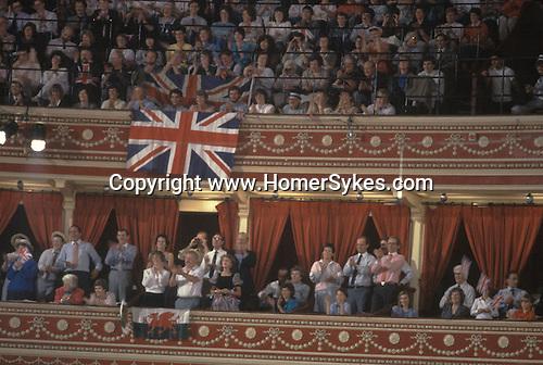 Last night of the Proms. Royal Albert Hall London.  The English Season published by Pavilon Books 1987