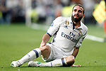 Real Madrid's Dani Carvajal injured during Champions League 2016/2017 Semi-finals 1st leg match. May 2,2017. (ALTERPHOTOS/Acero)