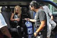 VERACRUZ.- VERACRUZ.9 enero 2012- El Actor Aarón Hernán,  el productor Miguel Ángel Herros, Fernanda Rodriguez y Raúl Araiza Herrera asistieron a la última misa del productor y director  Don Raúl Araiza que fue en El Puerto de Veracruz. El Actor de 78 años murió la mañana del ocho de Enero del 2013 a causa del cáncer de próstata que padecía.<br /> (*Photo*:Tirador MC/NortePhoto)<br />  nortephoto@gmail.com