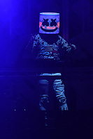 PHILADELPHIA, PA - DECEMBER 5: Marshmello at Q102's iHeartRadio Jingle Ball at Wells Fargo Center in Philadelphia, Pennsylvania on December 5, 2018. Credit: John Palmer/MediaPunch