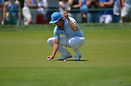 June 28, 2013  (Bethesda, Maryland)  Rickie Fowler during the 2nd Round of the AT&T National at Congressional Country Club in Bethesda, MD.  (Photo by Don Baxter/Media Images International)