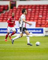7th July 2020; City Ground, Nottinghamshire, Midlands, England; English Championship Football, Nottingham Forest versus Fulham; Harry Arter of Fulham breaks forward on the ball